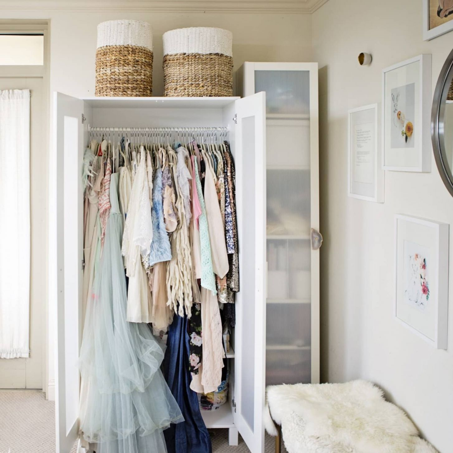 How to Create a Closet in a Small Space | Apartment Therapy