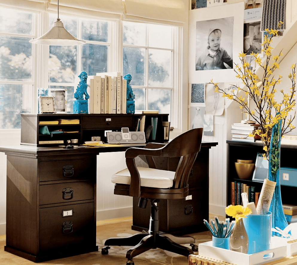 How to create home office on a budget - - home office ideas budget