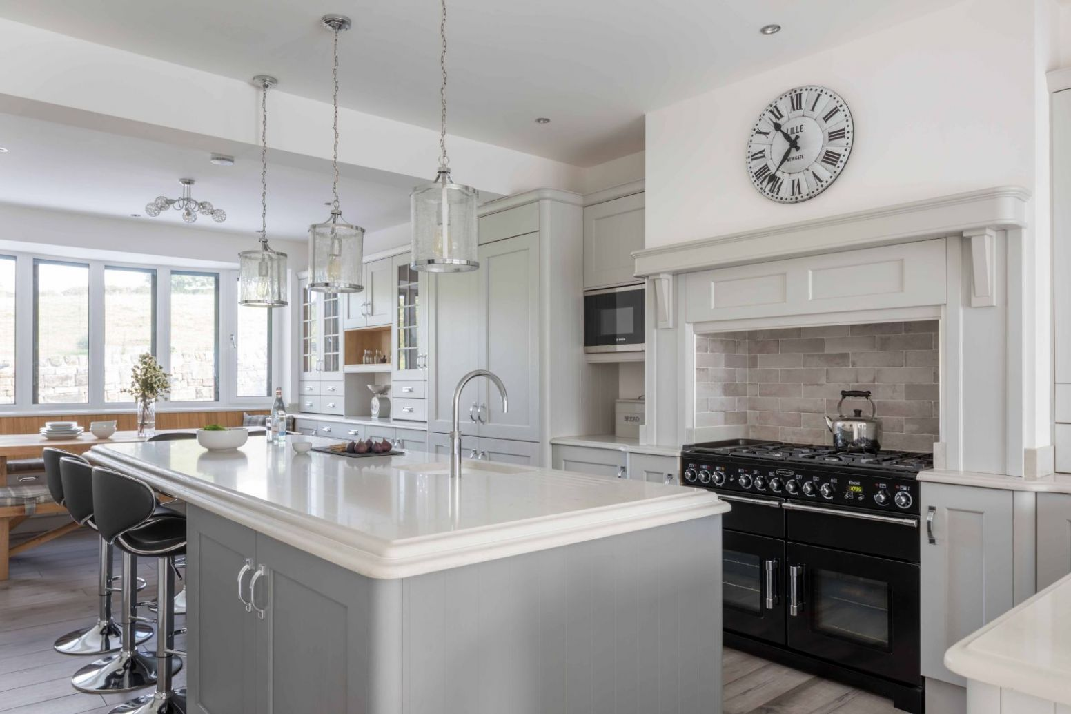 How To Decorate A Grey Kitchen - Kitchen Inspiration Blog ..