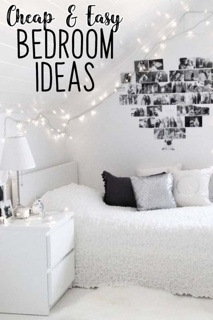 How To Decorate Your Room WITHOUT Buying Anything | White room ..