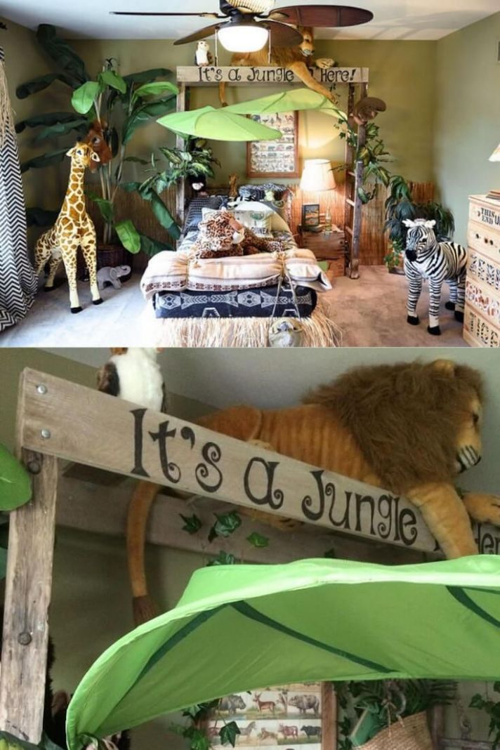 How to Design a Jungle Theme Bedroom: 9 Jungle Theme Bedroom ..