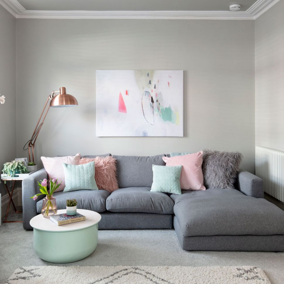How to Integrate Shades of Grey in Your Home - PRETEND Magazine - living room ideas grey walls