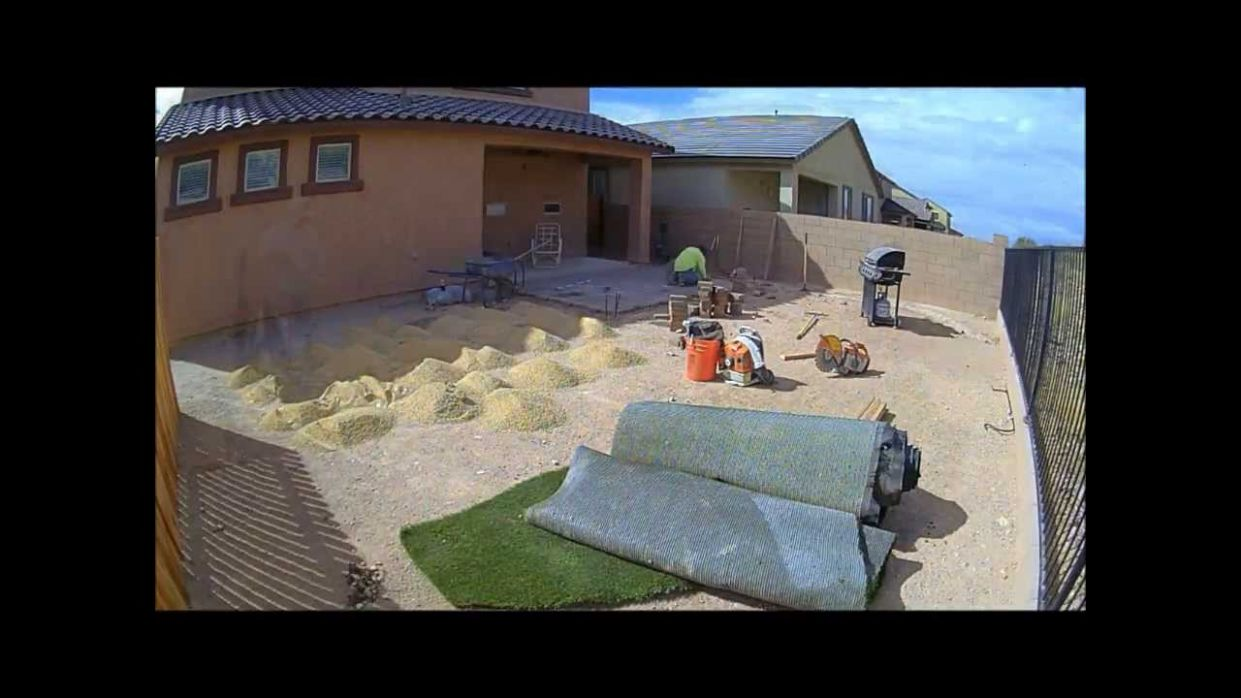 How to Landscape a Dirt Yard - YouTube - backyard ideas to cover dirt