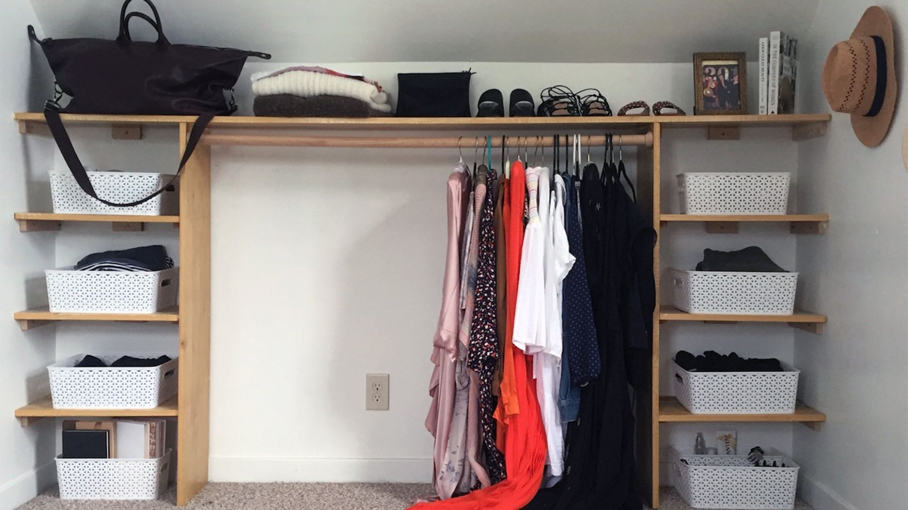 How to Make a Dream DIY Dressing Room - Life Storage Blog - closet room ideas diy