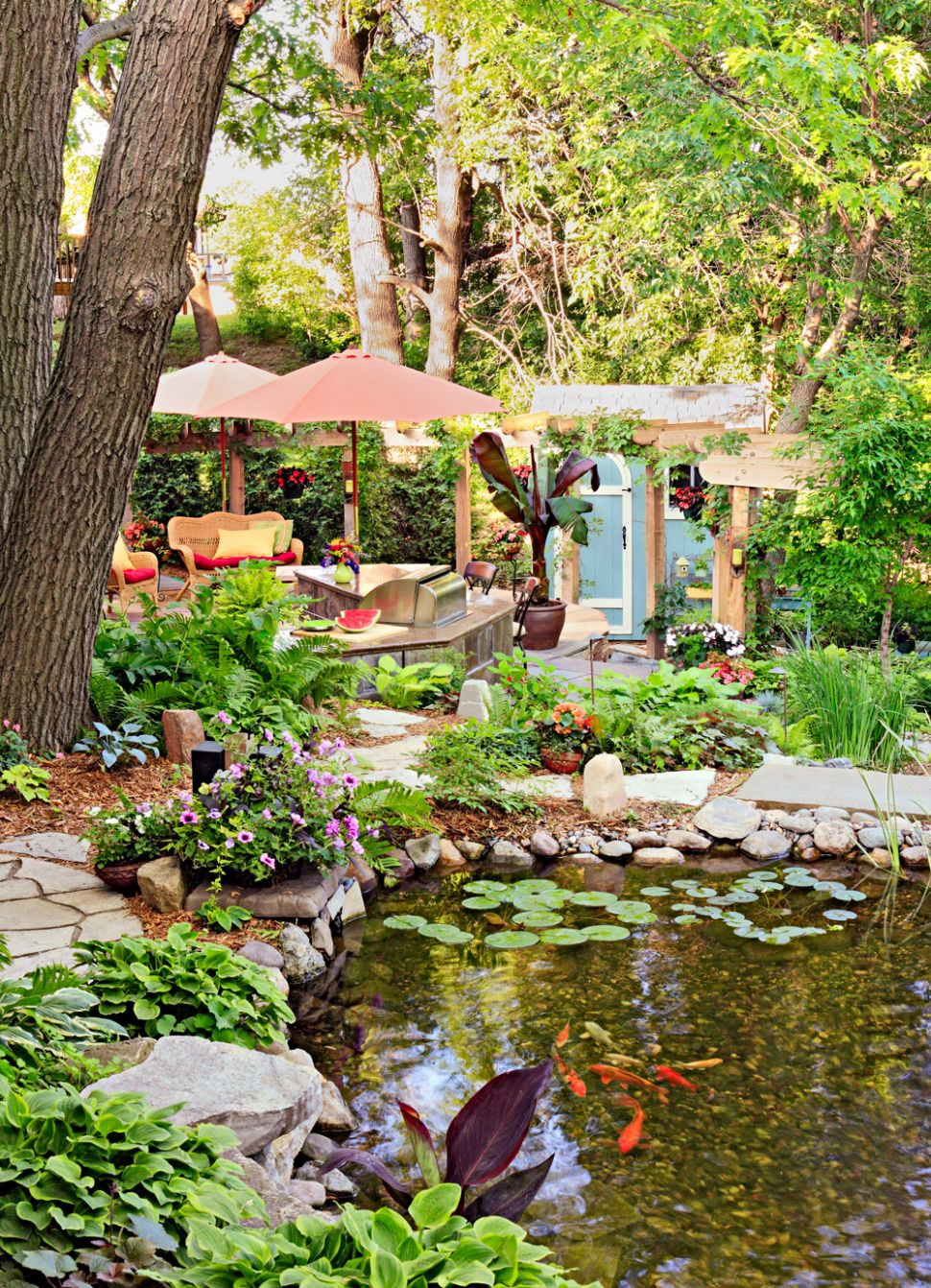 How to Make Your Backyard a Vacation Oasis | Midwest Living