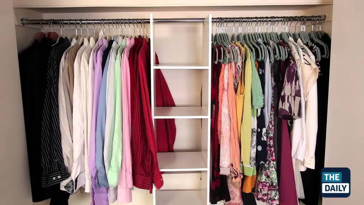 How to Makeover Your Closet on a Budget - small closet ideas youtube