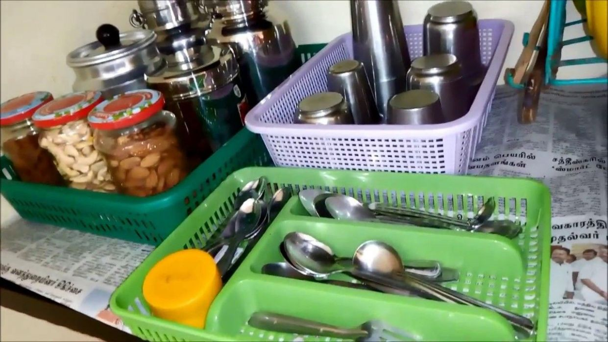 How to Organize Kitchen without Cabinets|Kitchen Organization ...