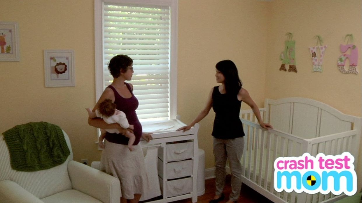 How to Set Up the Nursery - Baby Boot Camp - baby room set up