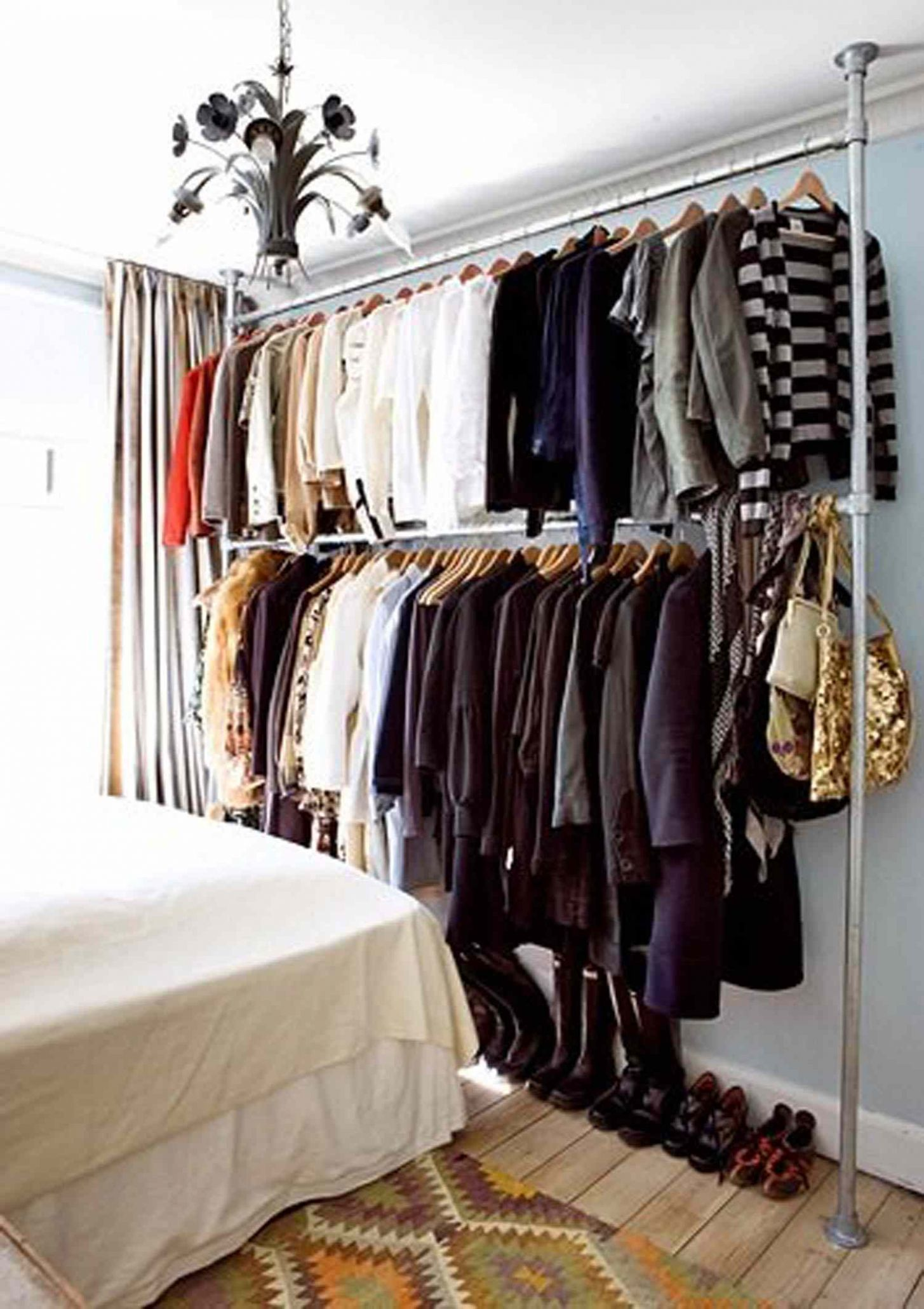 How to Store Clothes When You Don't Have a Closet