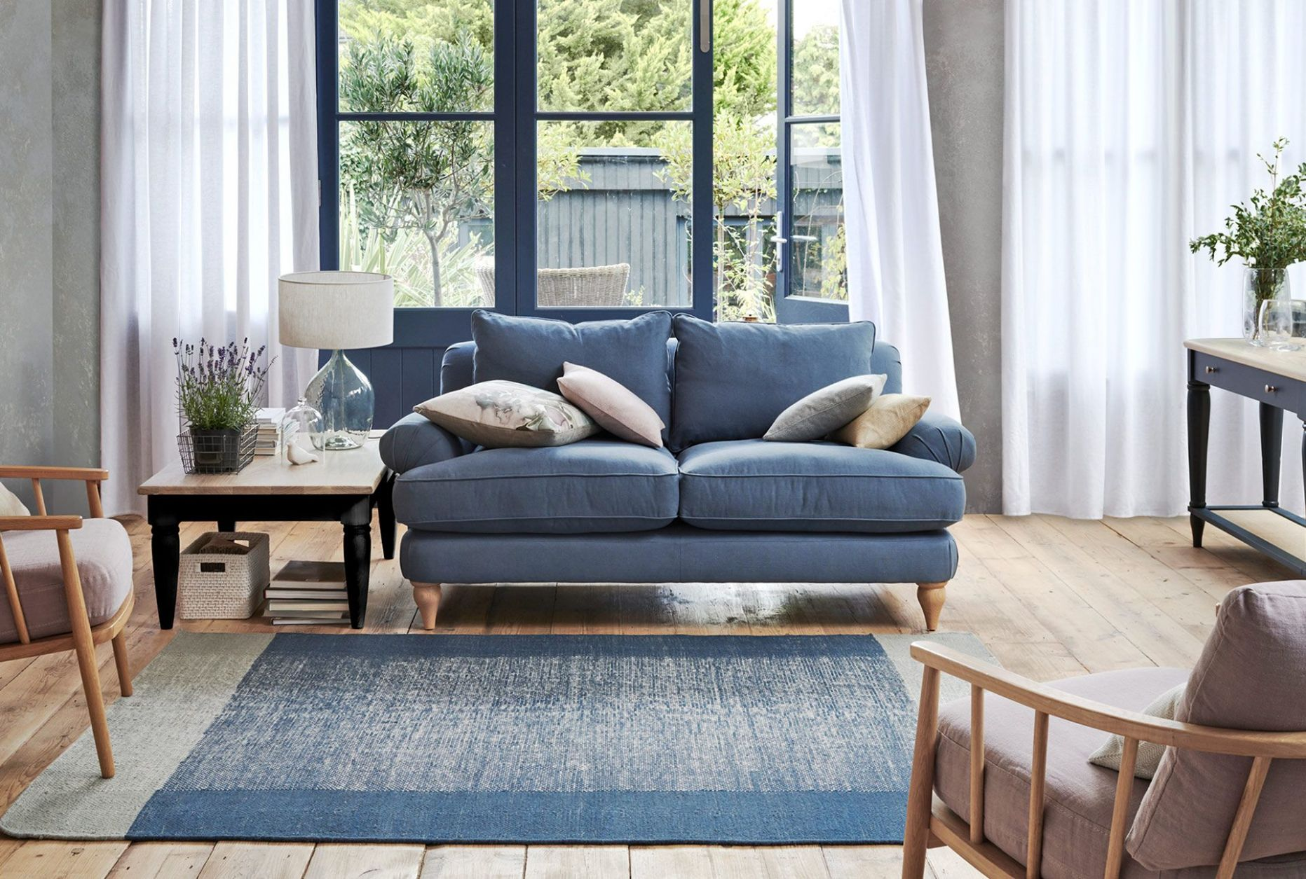 How to style the John Lewis interior design trends for A/W 9 - living room ideas john lewis