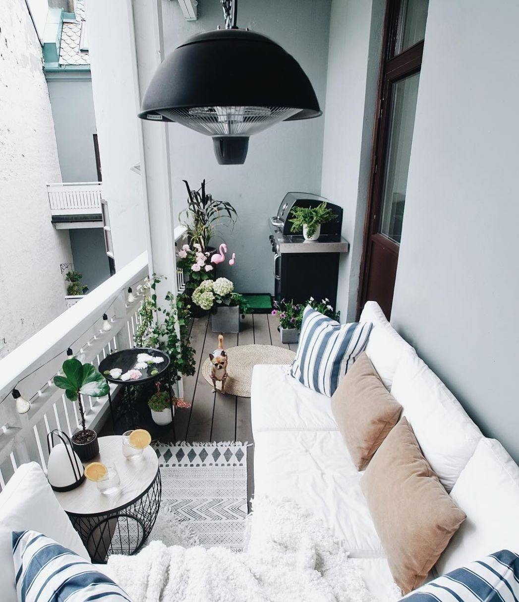 How to turn a balcony into a second living space | Better Homes ...