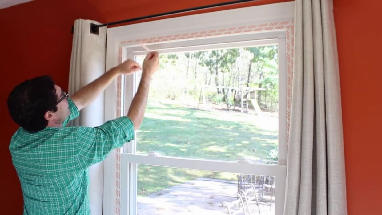 How to Weatherize Windows with Plastic Film Insulation -- by Home Repair  Tutor - window insulation ideas