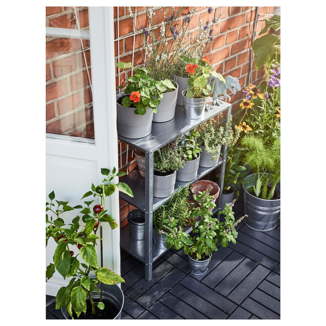 HYLLIS Shelving unit - in/outdoor 12x12x12 cm
