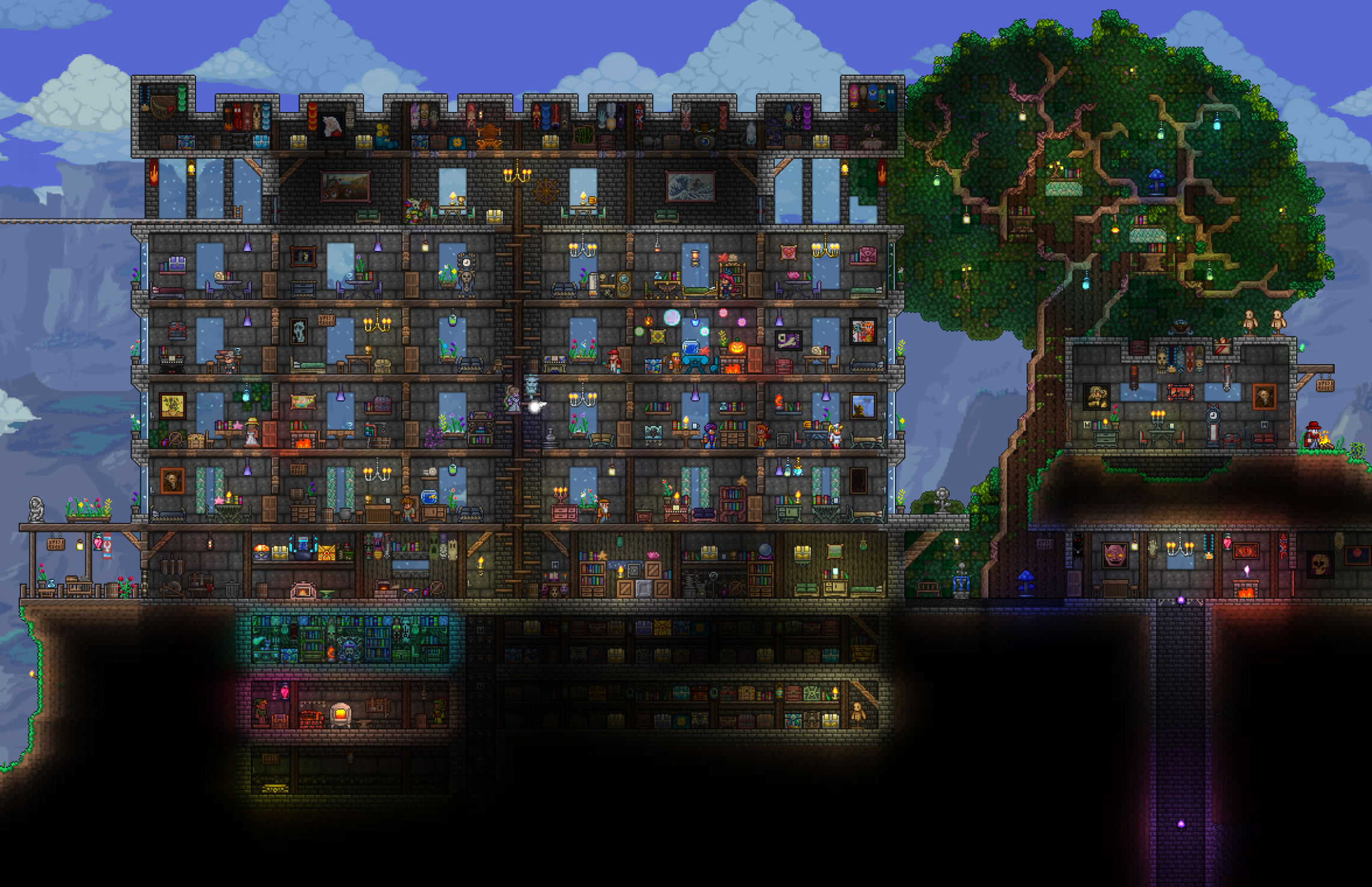 I was really inspired by all the gorgeous builds here, so here's ...