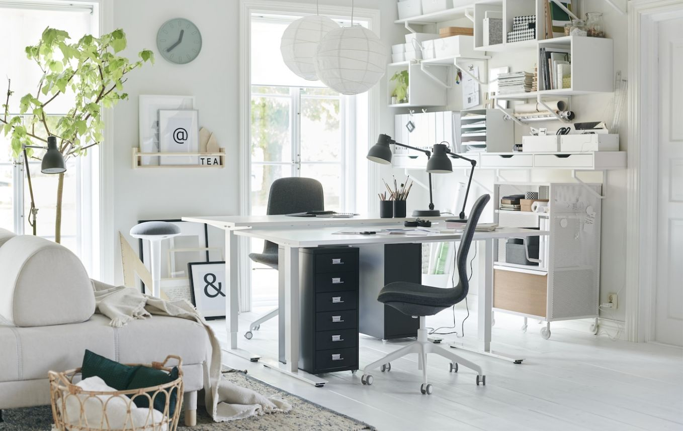Ideas for a flexible home office - IKEA Singapore - IKEA - home office ideas ikea