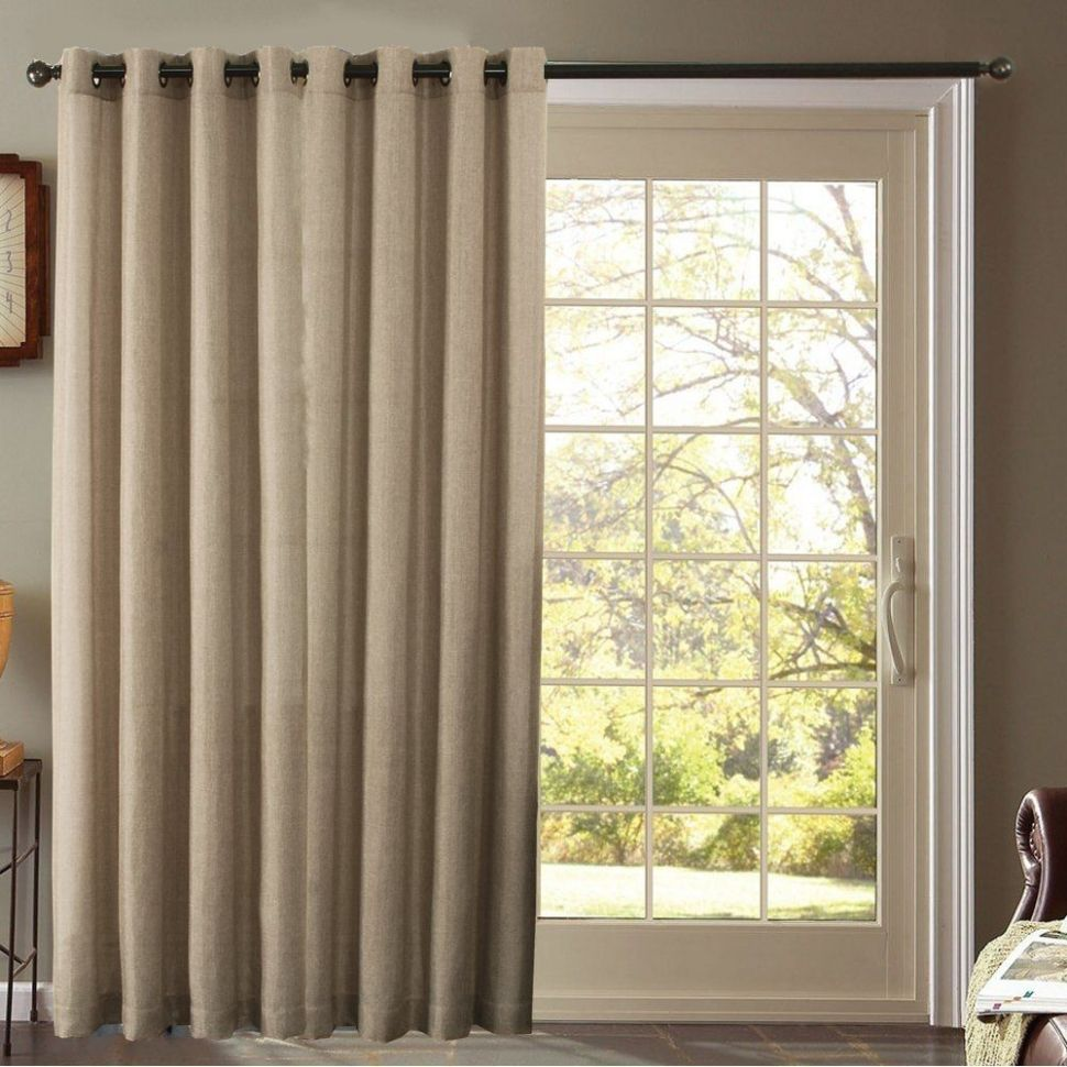 Ideas For Sliding Glass Door Curtains | Sliding door curtains ..
