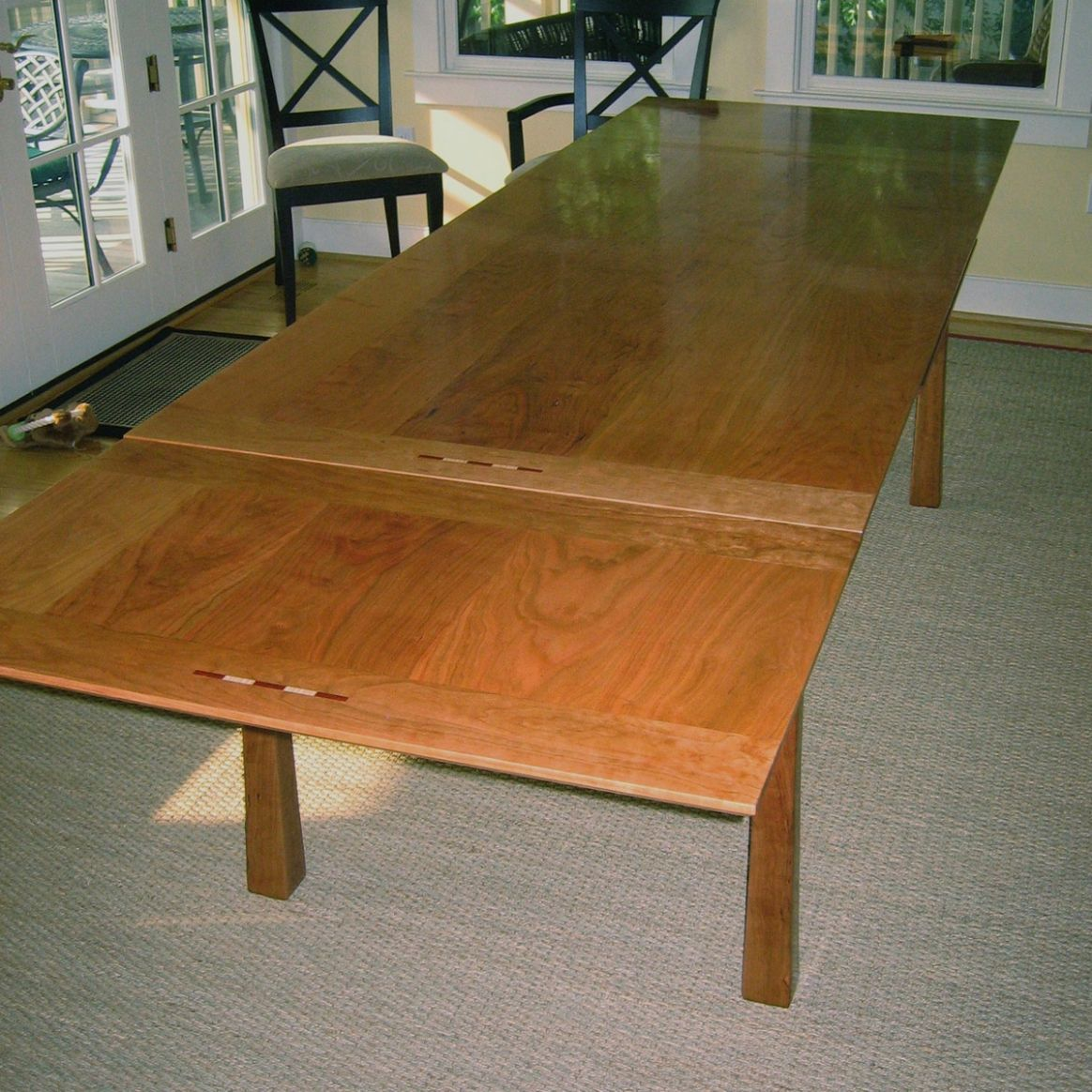 Ideas for Space-Saving Extension Tables - Made by CustomMade - dining room table extension ideas