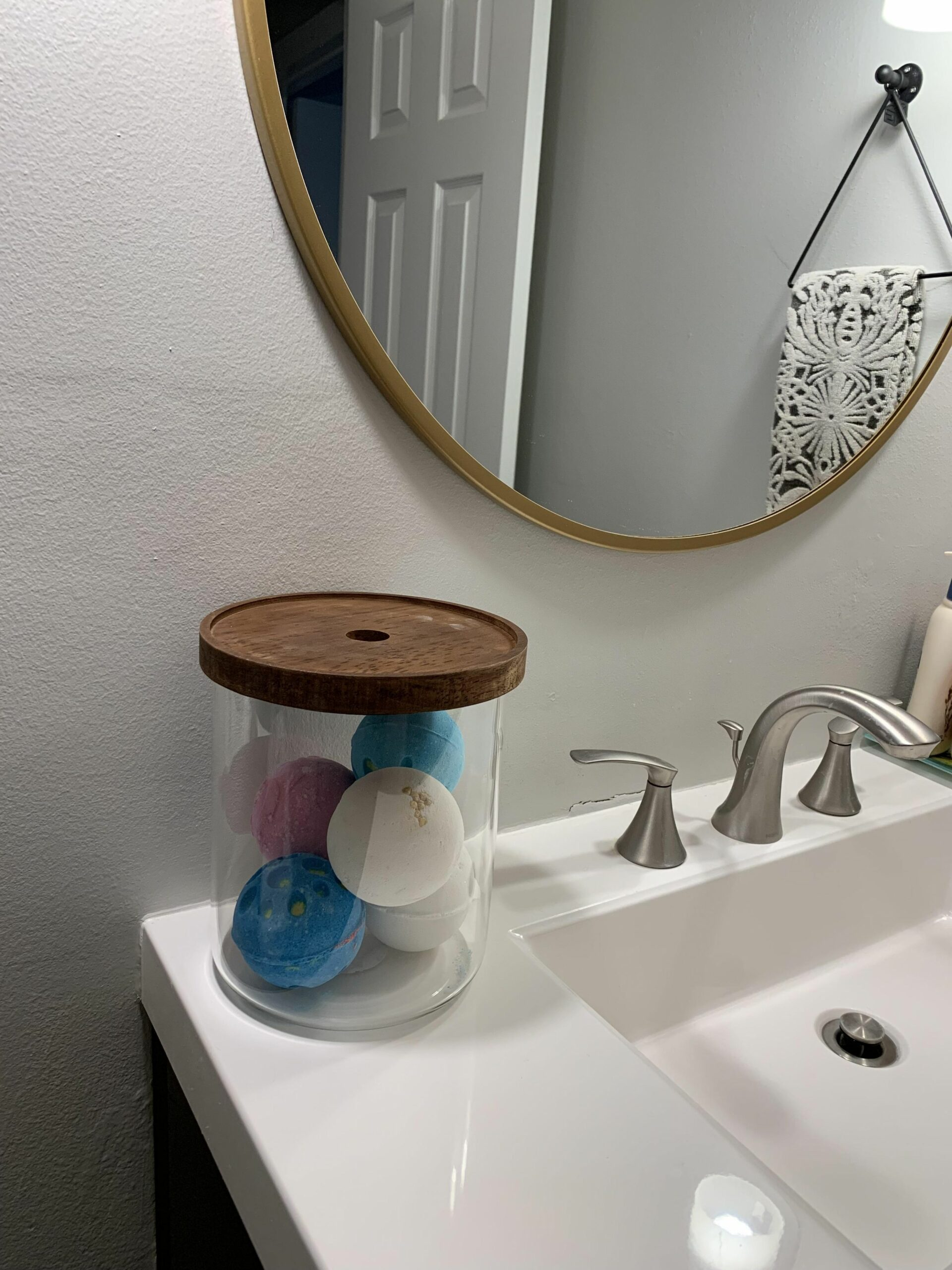 If you're looking for storage ideas, this jar from Target is ...