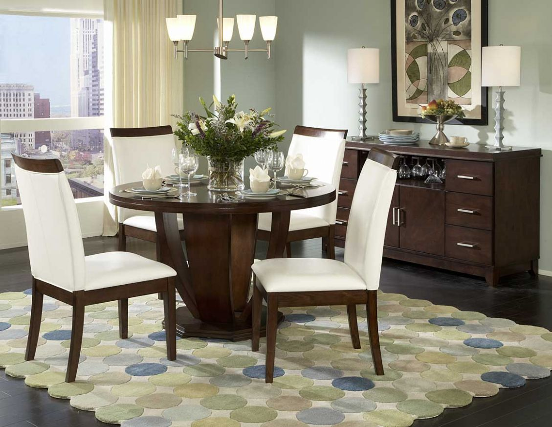 Image Modern Round Dining Table — Best Room Design : Ideas for ..