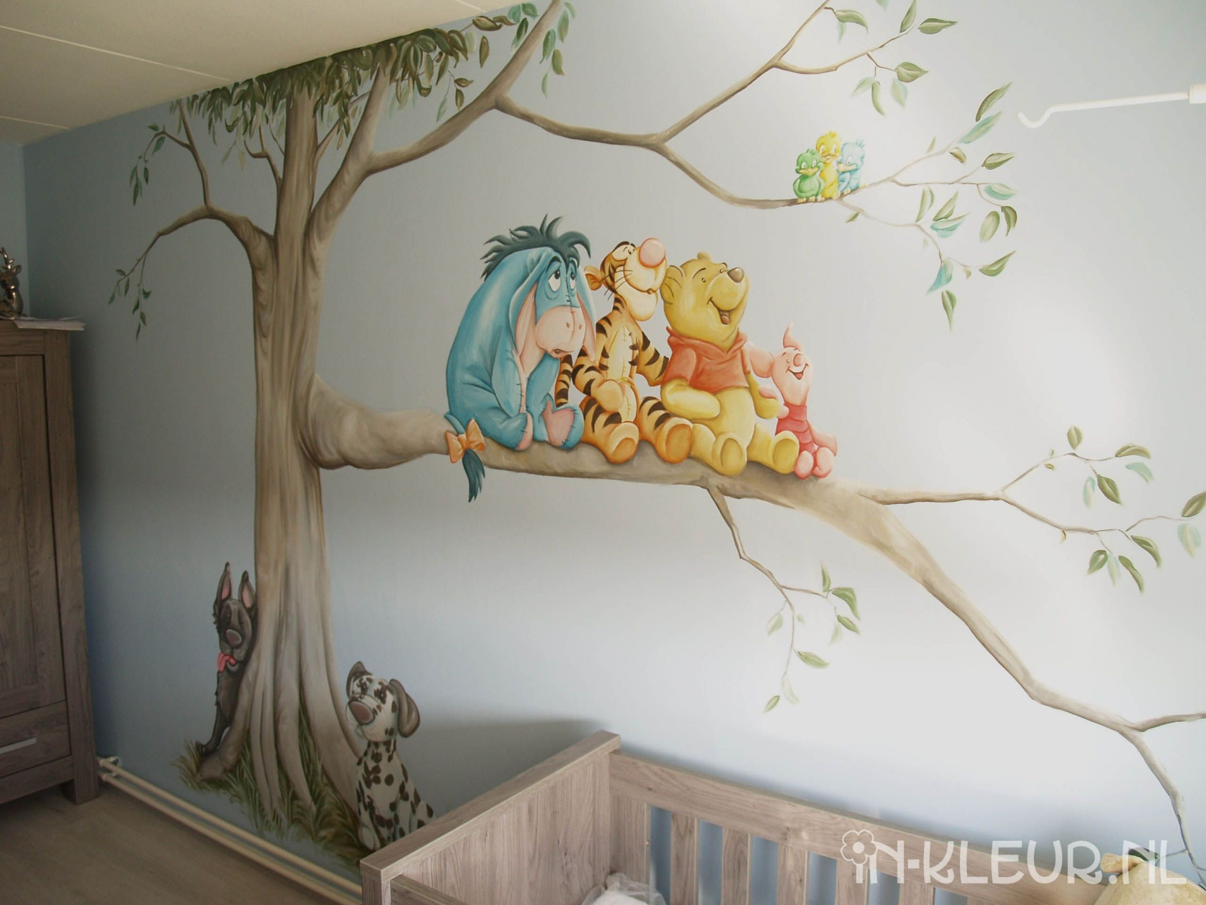 Image result for bambi wall mural | Nursery mural, Mural, Winnie ..