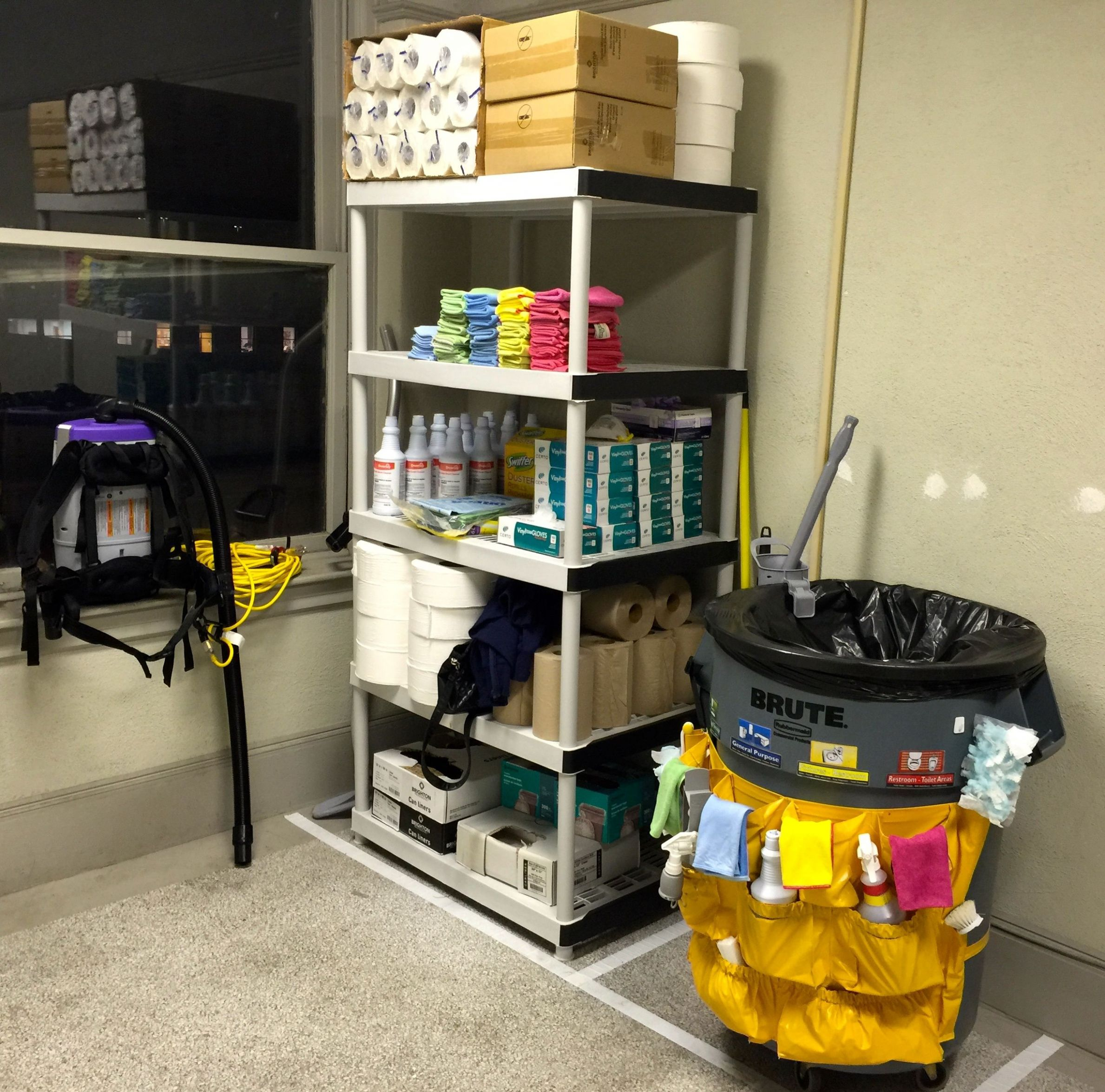Image result for hotel janitor closet | Hotel kitchen, Commercial ...