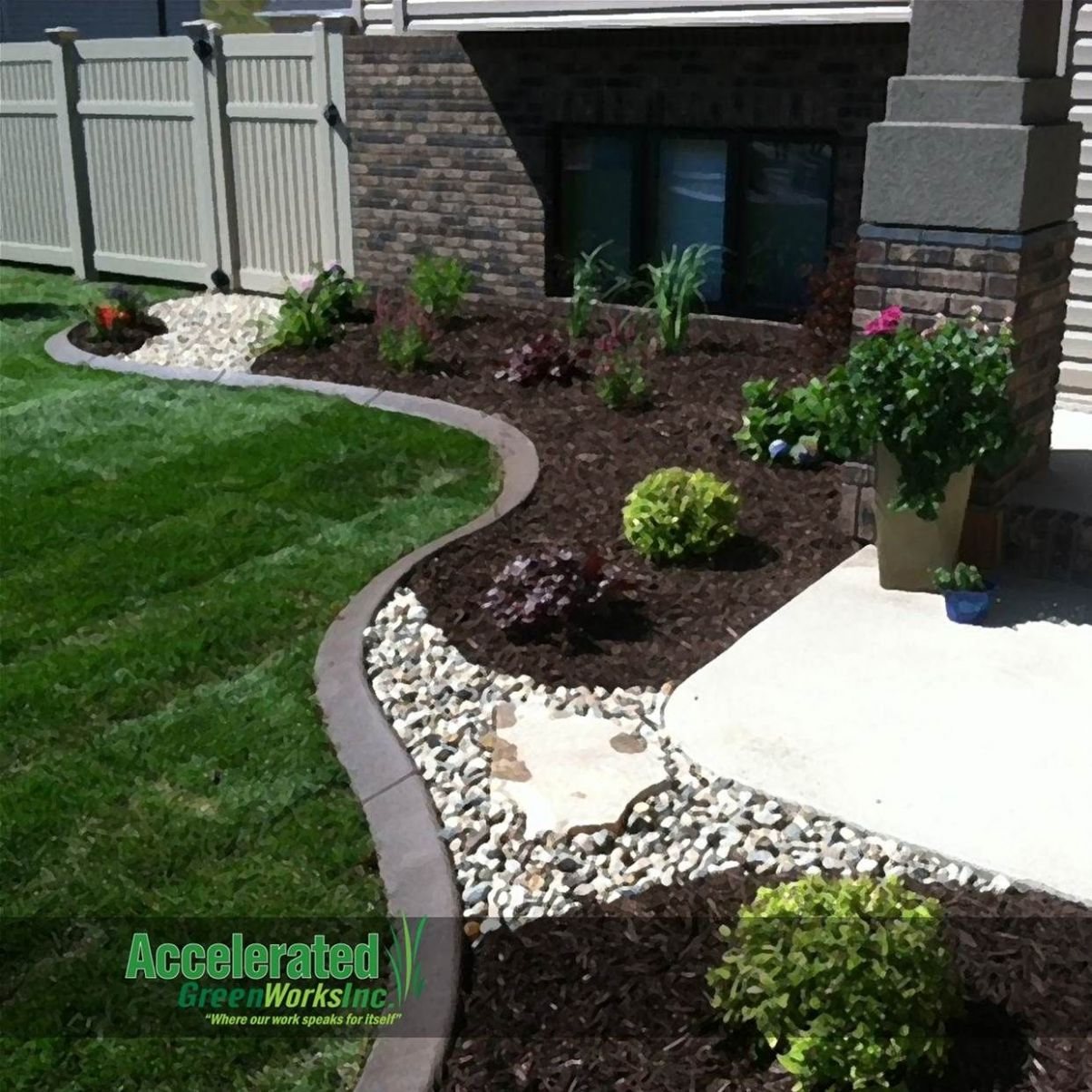 Image result for Landscaping Rocks Against the House | Cheap ..