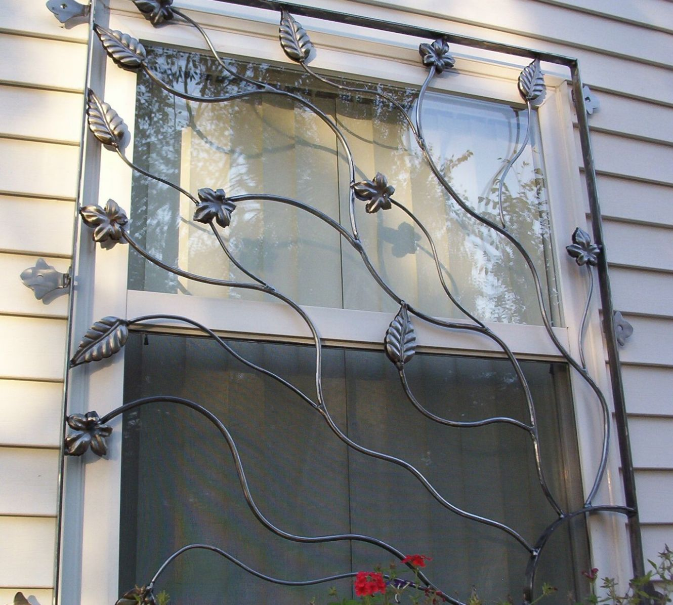 Image result for wrought iron decorative window bars … | Rejas ...