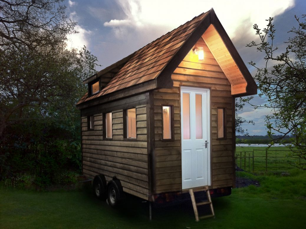 Images of Tiny Houses, custom built for clients in the UK and ..