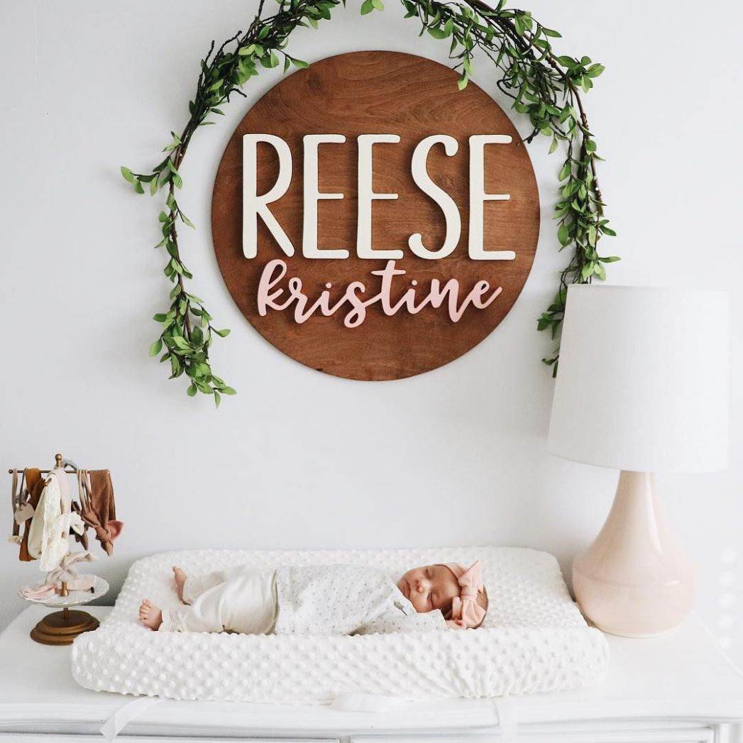 infants | nursery | nursery decor | minimal | name signs ...