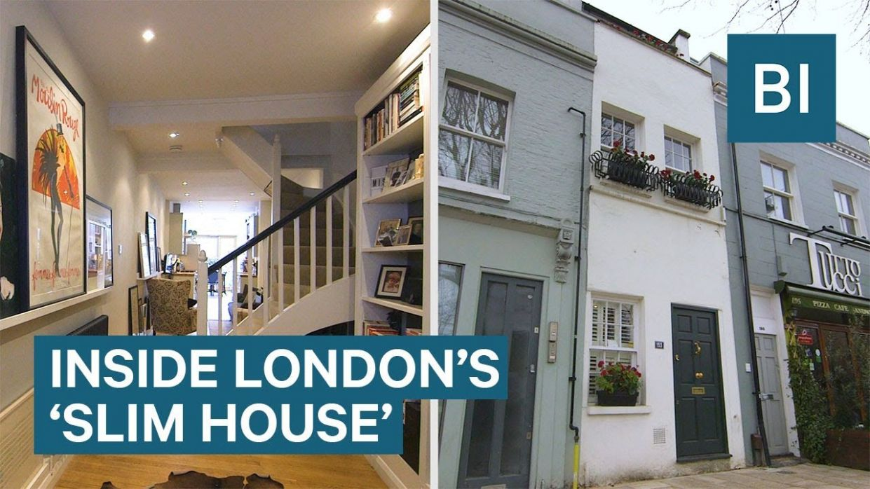 Inside London's 'Slim House' That Is 8 Feet Wide And Costs £8m