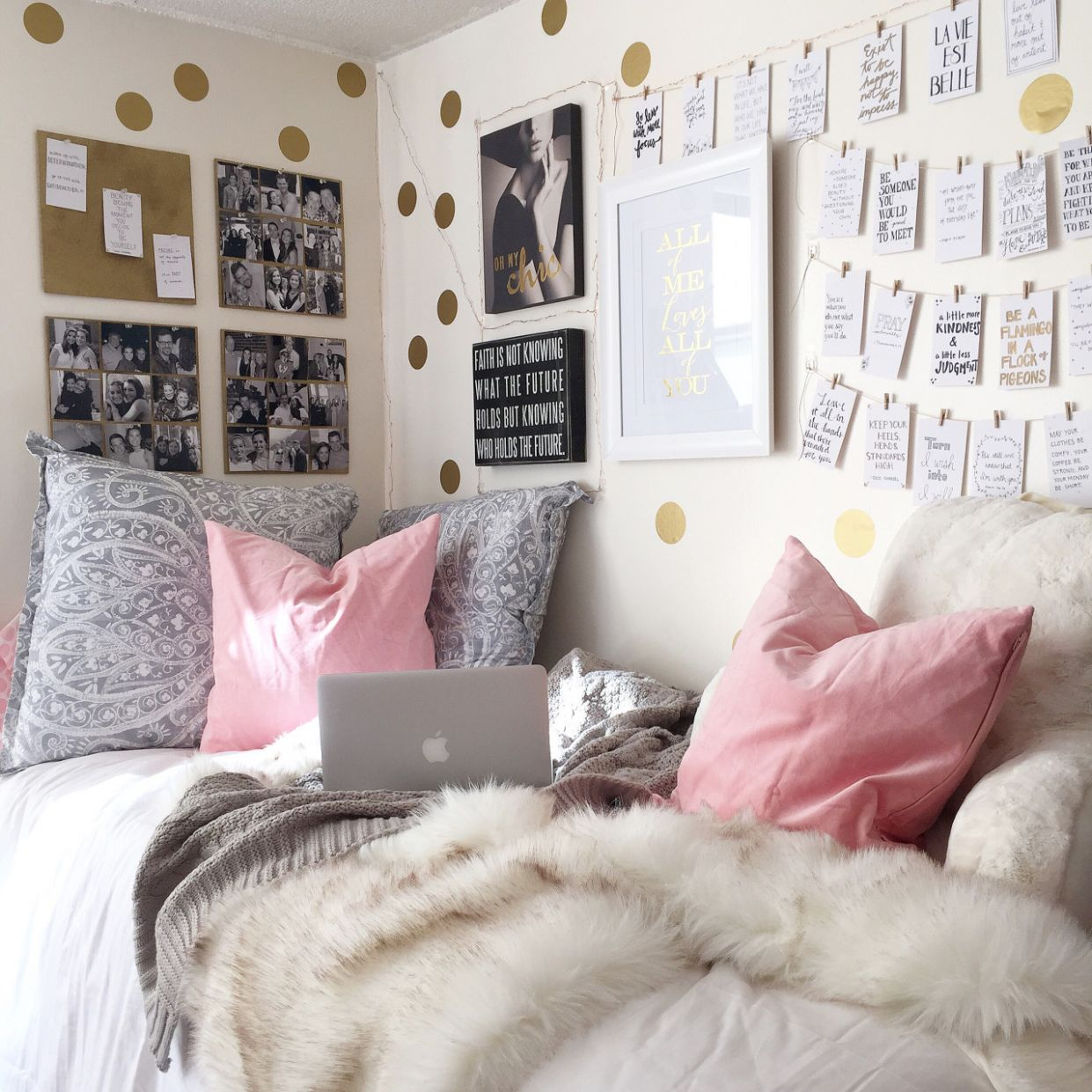 Inspiration from 9 Super-Stylish Real Dorm Rooms | Apartment Therapy - dorm room design and decor location