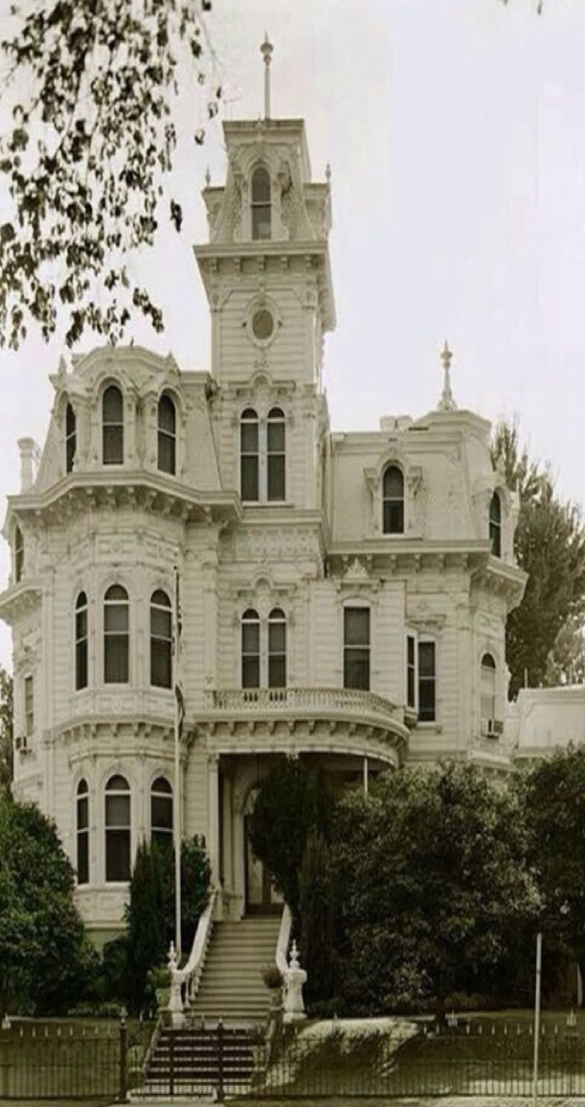 Inspiration: Victorian Home with five stories, turret, cupola, and ..