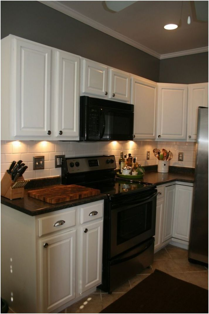 Inspirational What Color to Paint Kitchen Cabinets with Black ..