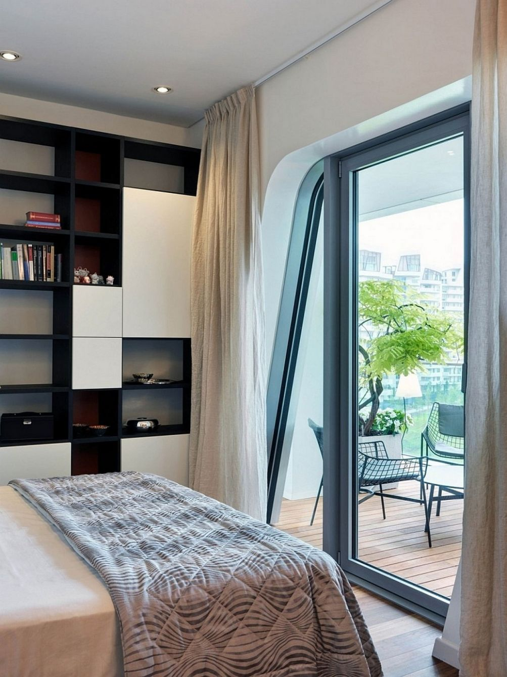 Inspired Accessories Bedroom With Balcony Design On A Budget ..