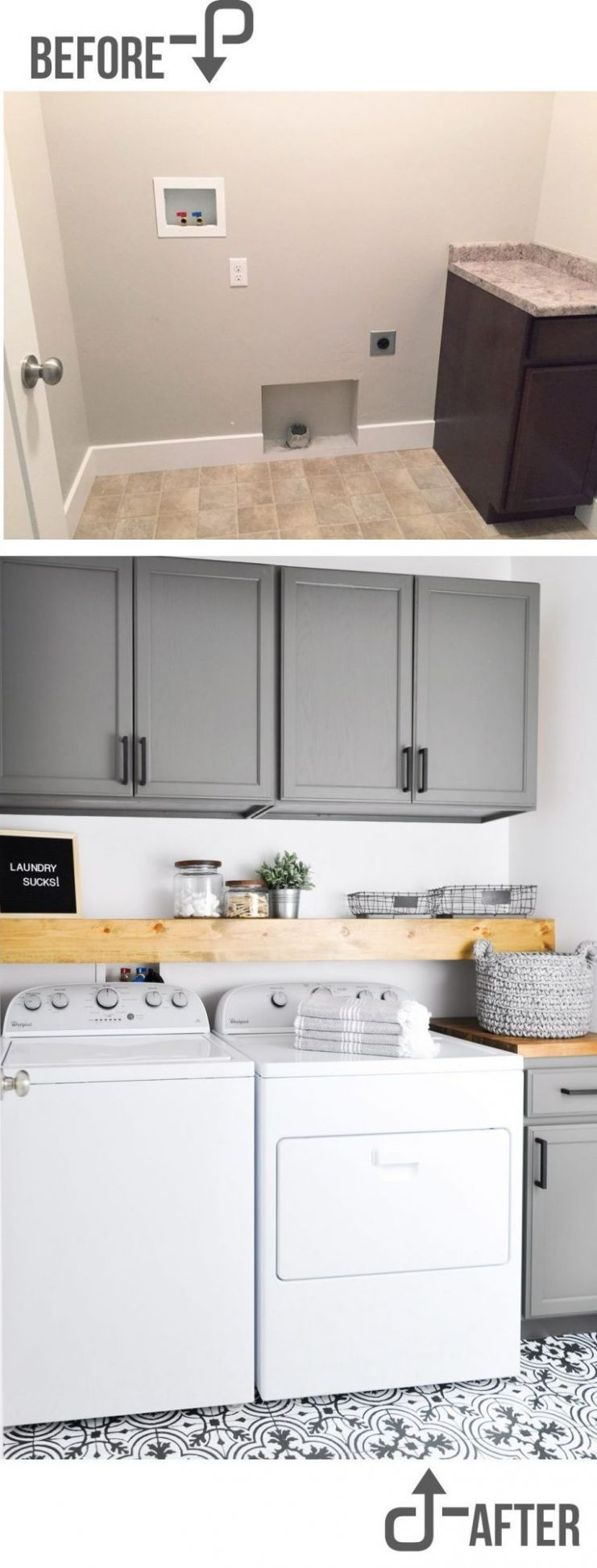 Inspiring Laundry Room Makeover Ideas With Amazing Results - laundry room ideas makeover