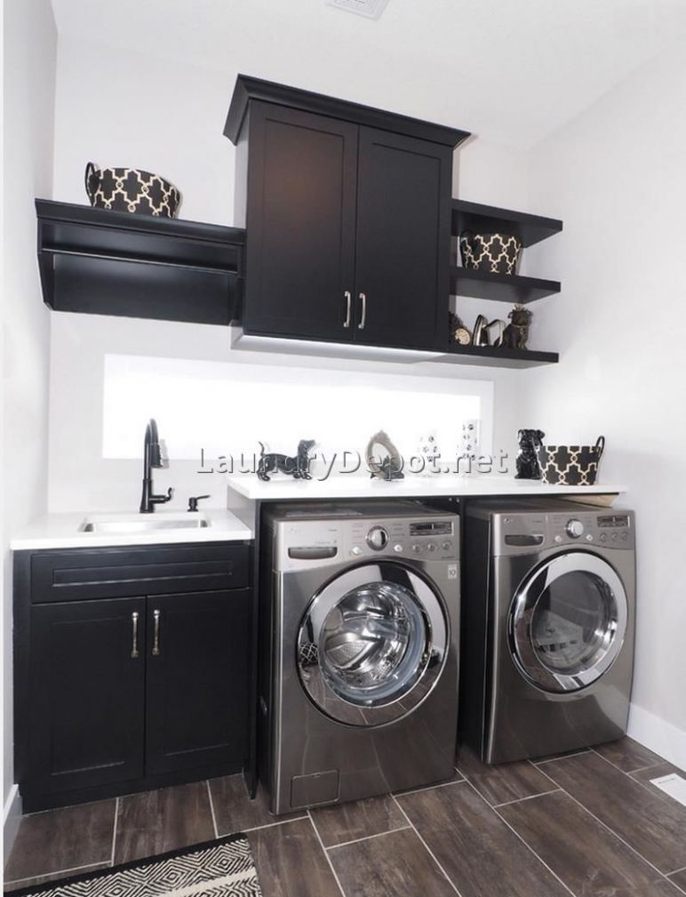 Installing A Utility Sink In Laundry Room | Laundry room remodel ..