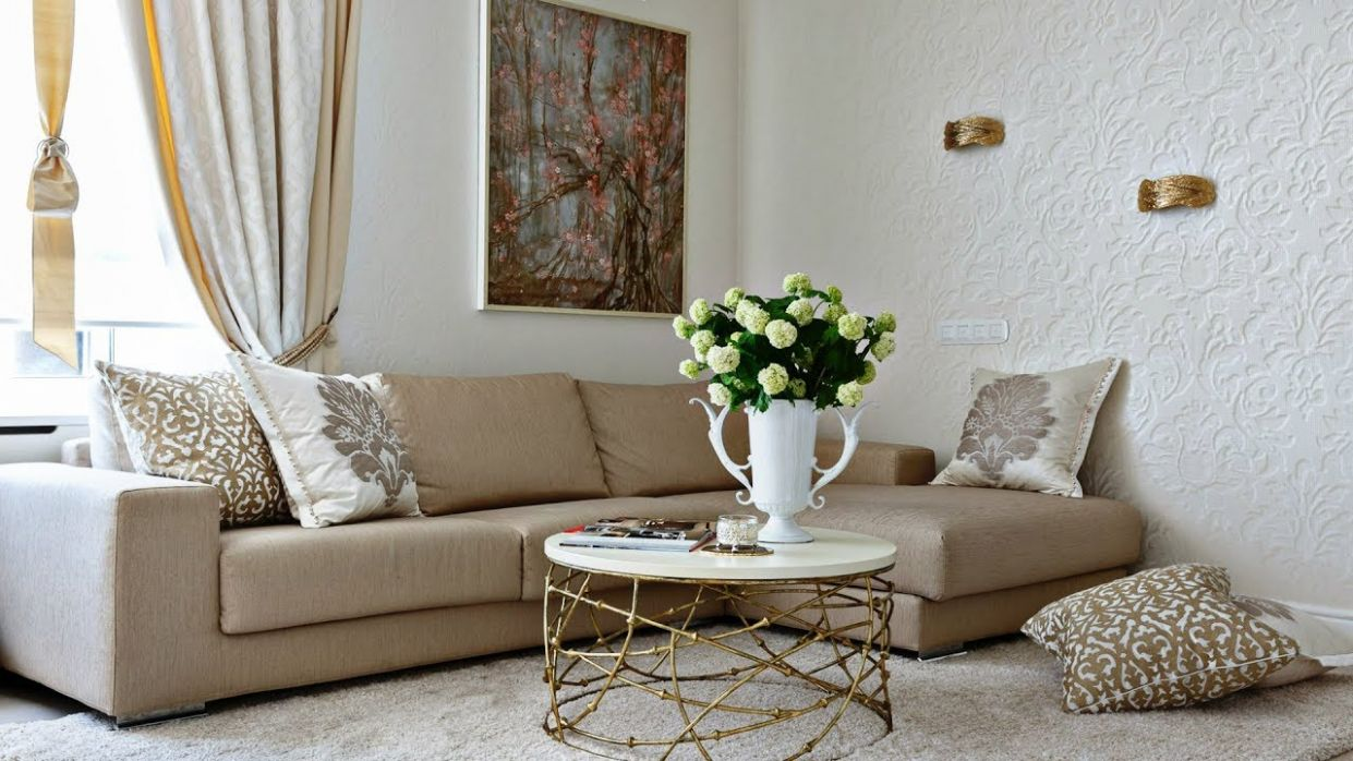 INTERIOR DESIGN / Beige and White Living Room / Living Room 8 / Home  Decor - home decor for living room