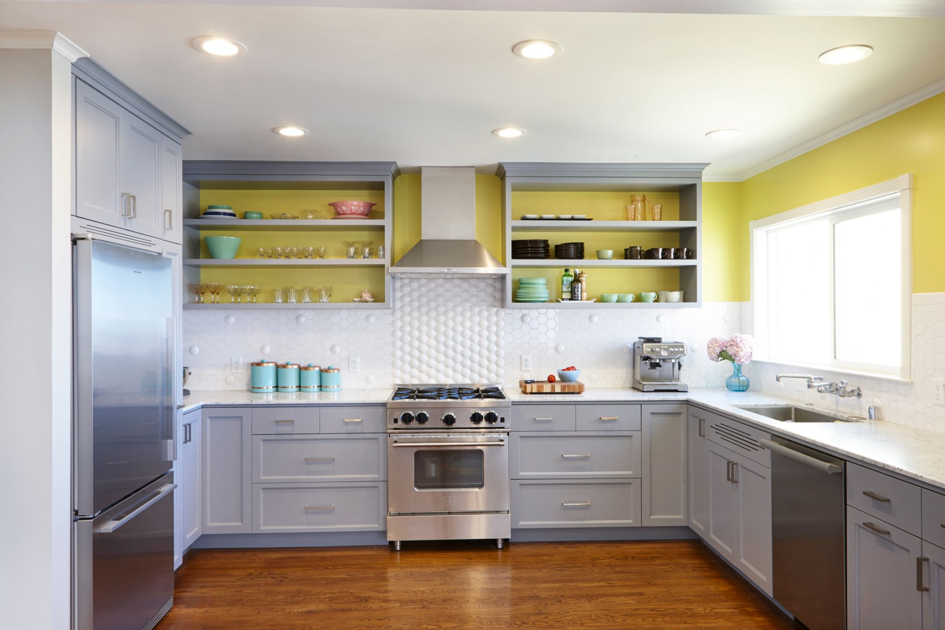 Interior Paint Color Ideas | Painting Inside Kitchen Cabinets ..