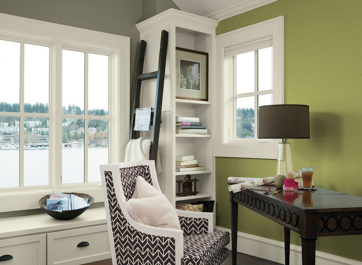 Interior Paint Ideas and Inspiration | Home office colors, Home ...