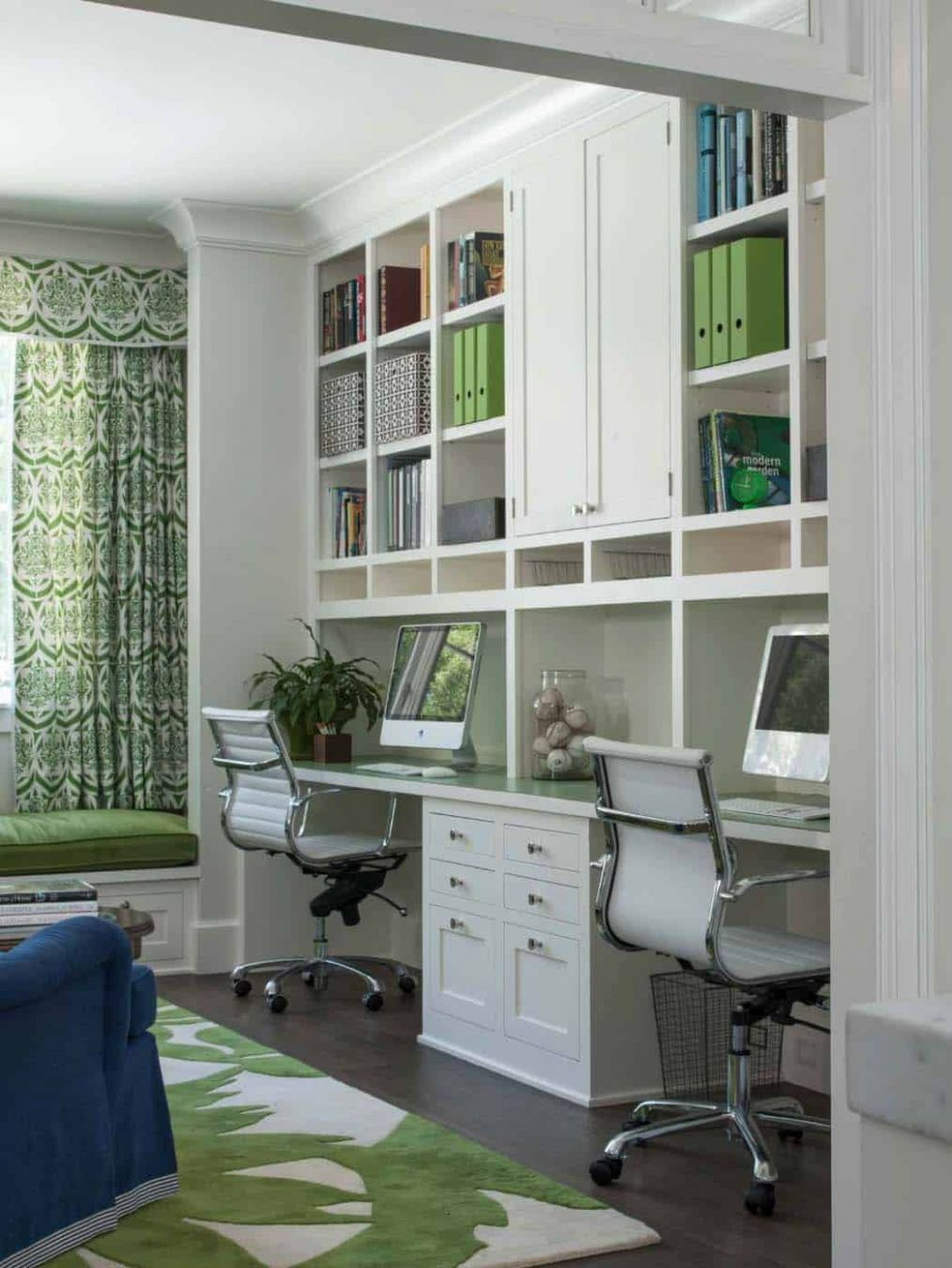 Interior : Simple Home Office Design With Home Library Inspiring ..