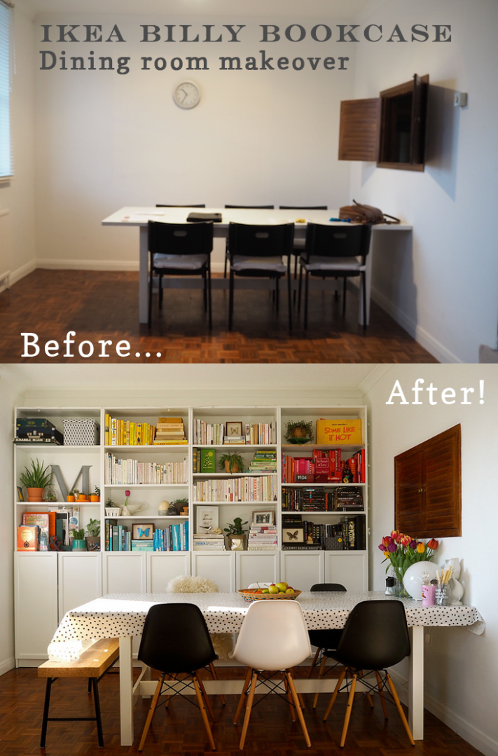 Interiors: The dining room - before and after | Interieur, Ikea