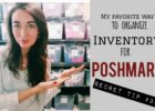Inventory Organization you NEED for your Poshmark closet/ Online Resale!  Secret Tip #11!