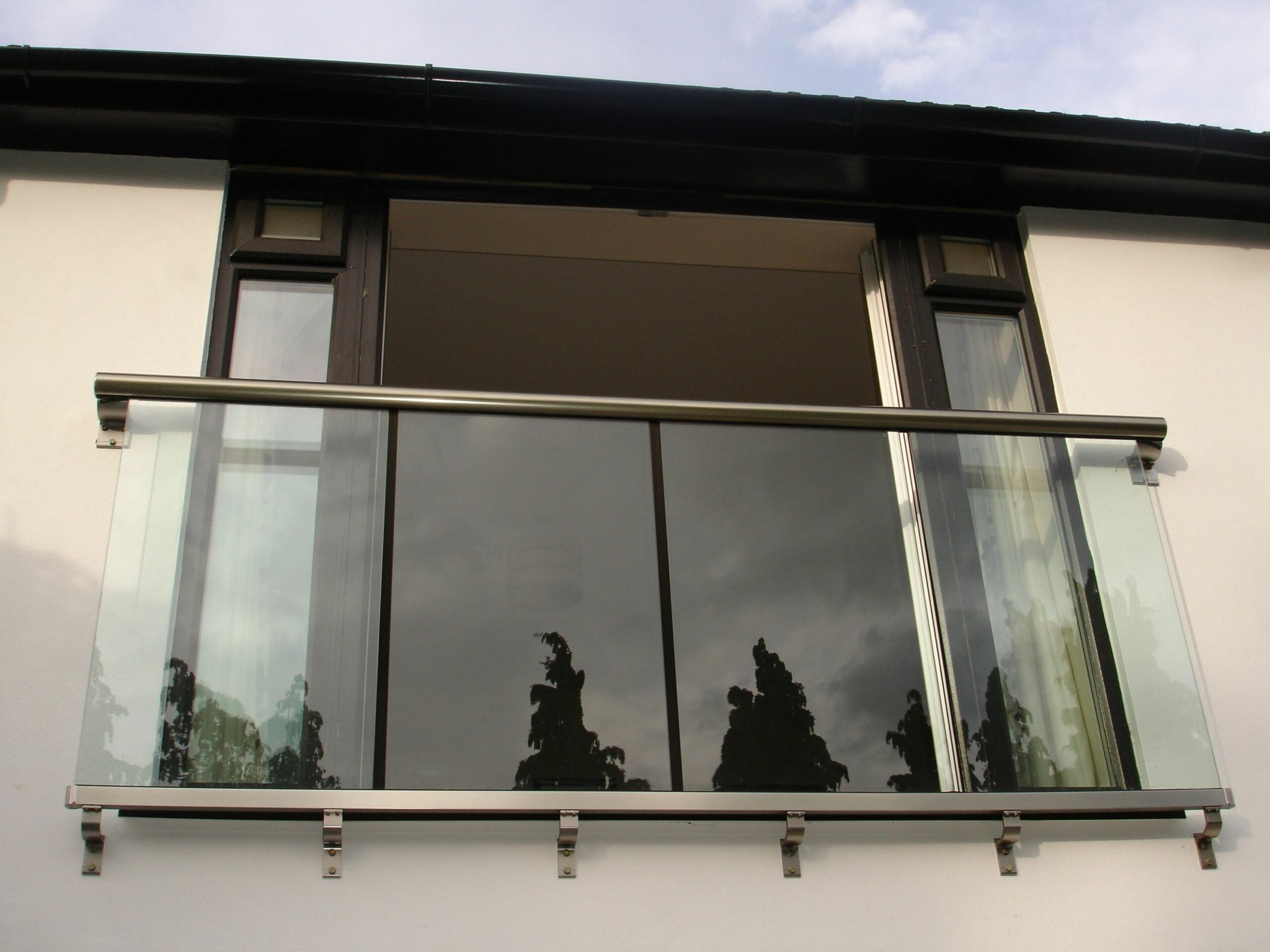 Juliet Balcony Glass Juliettes Image Gallery Balcony Systems (With ..