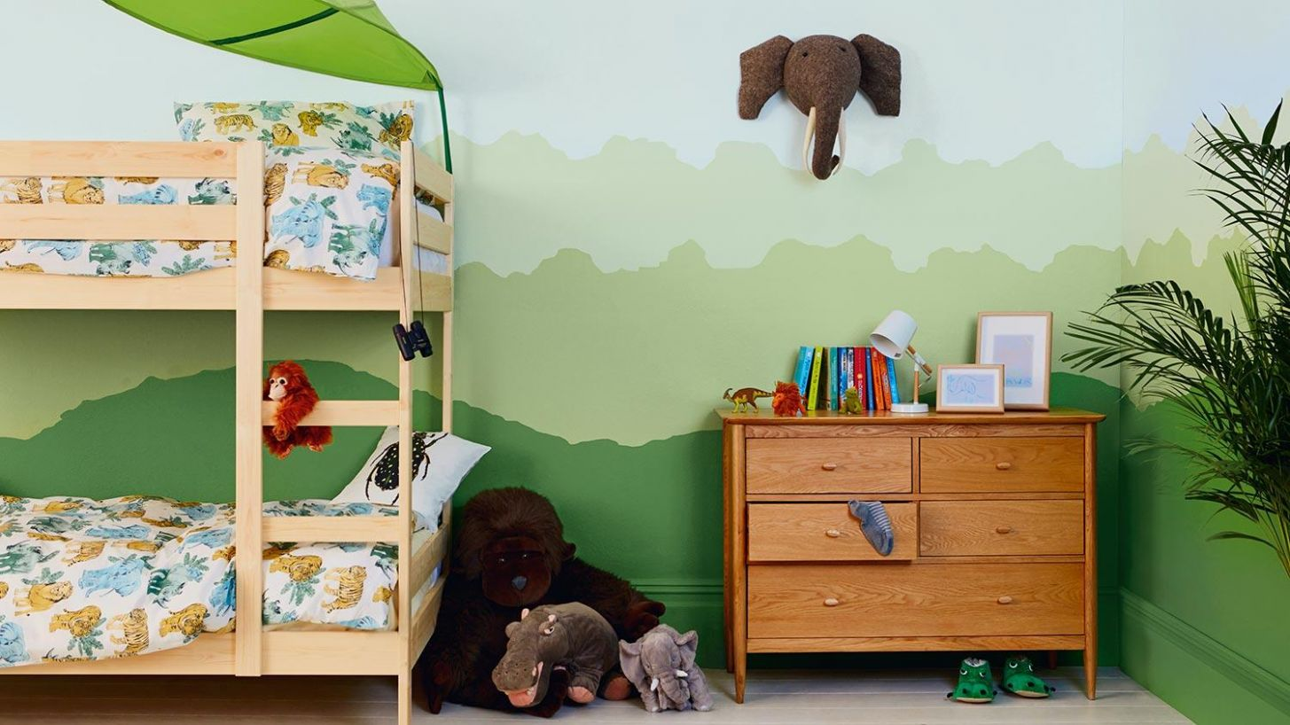 Kids Bedrooms - How to create a jungle bedroom | Dulux - childrens bedroom ideas jungle