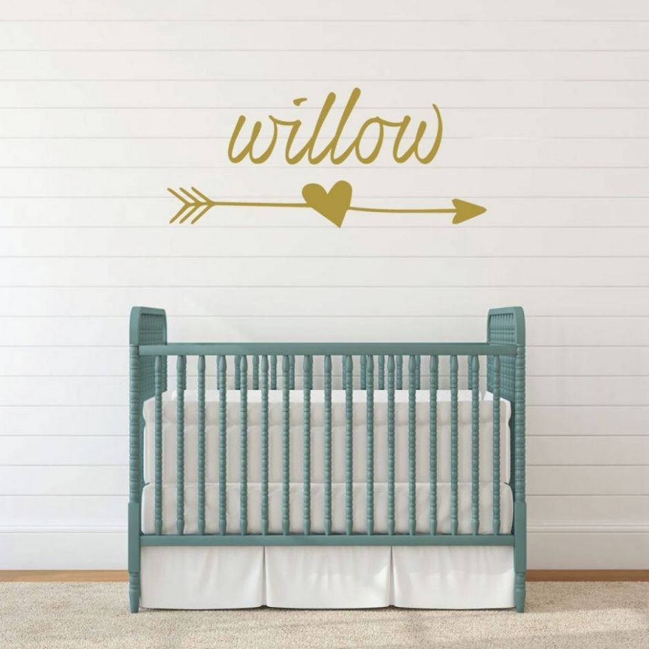 Kids Room : Personalized Nursery Wall Decal Vinyl Decor Animals ..