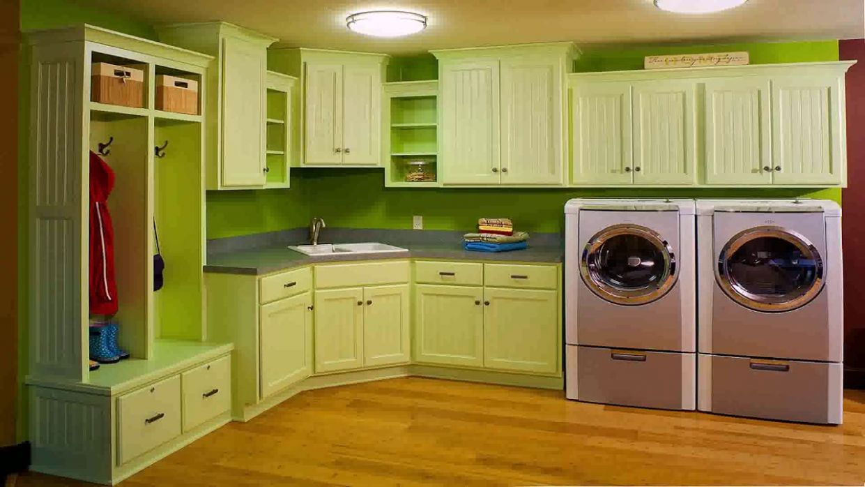 Kitchen And Utility Room Design Ideas India - YouTube - laundry room ideas india