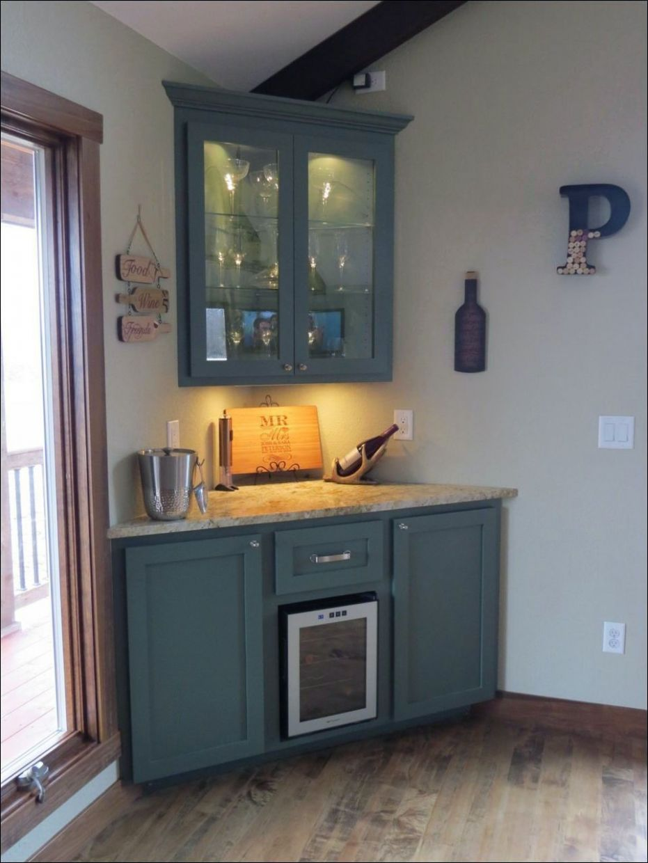 KITCHEN AREA IN RESIDING SPACE WITH CLUB COUNTER. AUTHENTIC ...