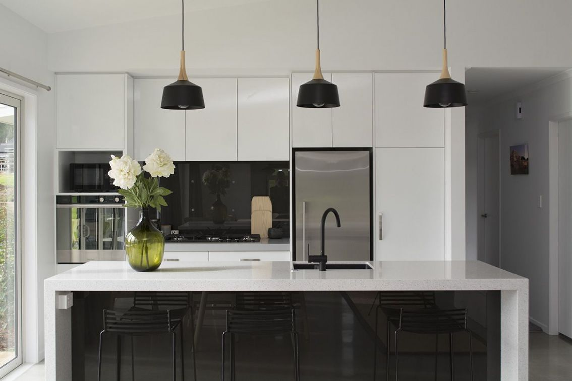 Kitchen Design Ideas Nz | Kitchen inspiration modern, White modern ..