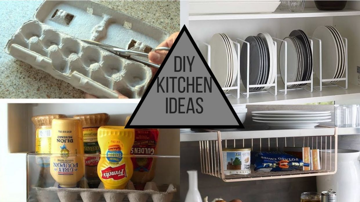Kitchen Hacks & Clever Solutions For Your Kitchen! - kitchen ideas hacks