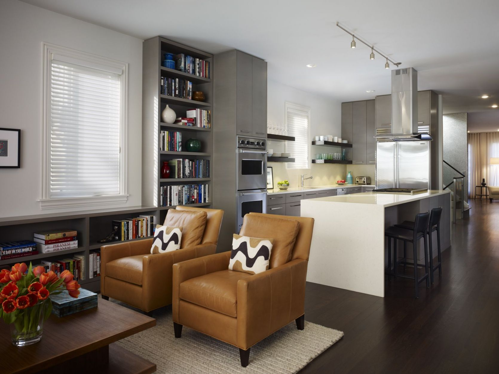 Kitchen Living Room Combo Ideas | Living room and kitchen design ...
